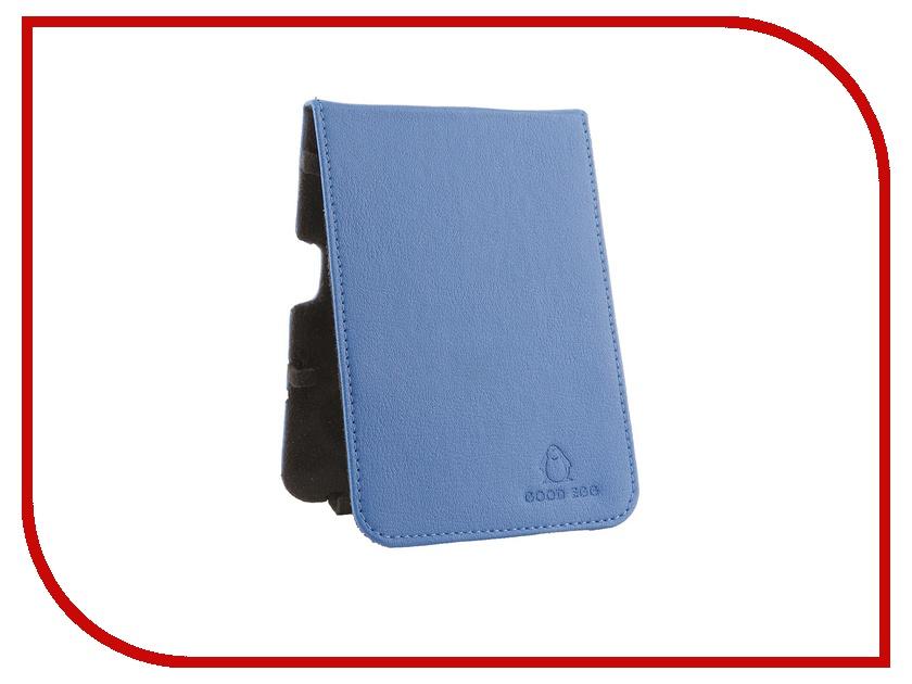 Аксессуар Чехол Good Egg for Pocketbook 650 Lira эко кожа Blue GE-PB650LIR2227