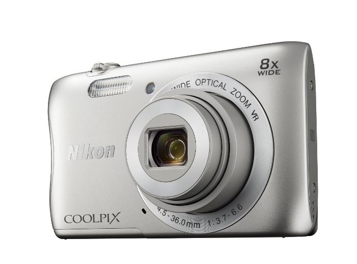 ����������� Nikon Coolpix S3700 Silver