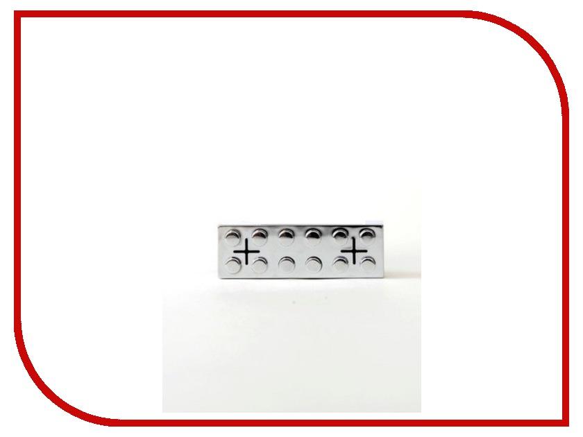 Колонка Hi-Fun hi-Brick for iPod and iPhone Silver<br>
