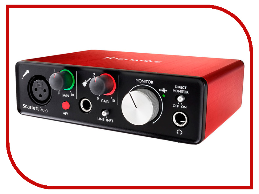 все цены на Аудиоинтерфейс Focusrite Scarlett Solo USB 2nd Gen