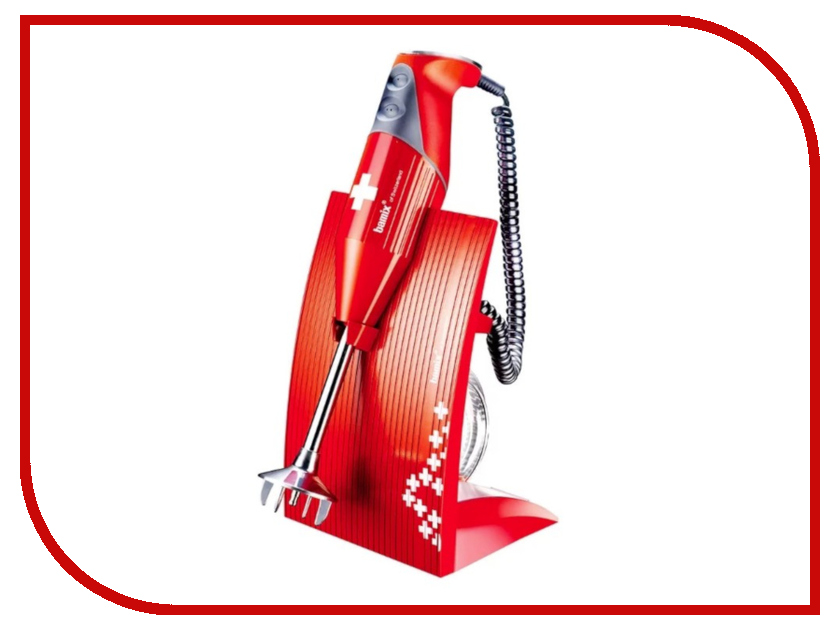 Блендер Bamix M200 Superbox SwissLine Red погружной блендер bamix m 200 swissline red красный