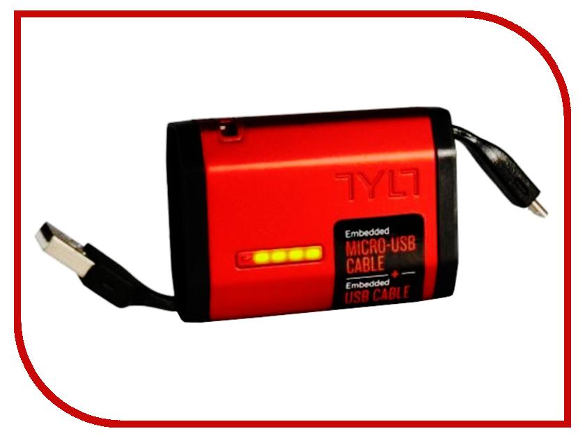 Аккумулятор TYLT Zumo Micro-USB 1500 mAh Red MV9ZUMORD-T