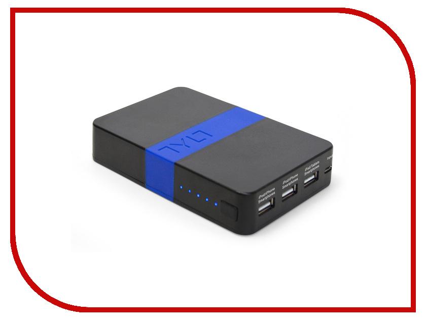 Аккумулятор TYLT Energi Universal-USB 10400 mAh Blue ENERGI10KBL-T<br>