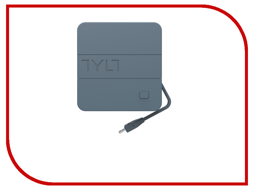 Зарядное устройство TYLT micro-USB / Lightning / USB 6000 mAh IP5NRG6TCGY-EUK Grey
