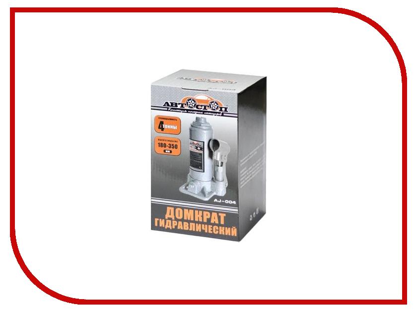 Домкрат АВТОСТОП AJ-004 4т 180-350мм домкрат белак бак 00026 2т