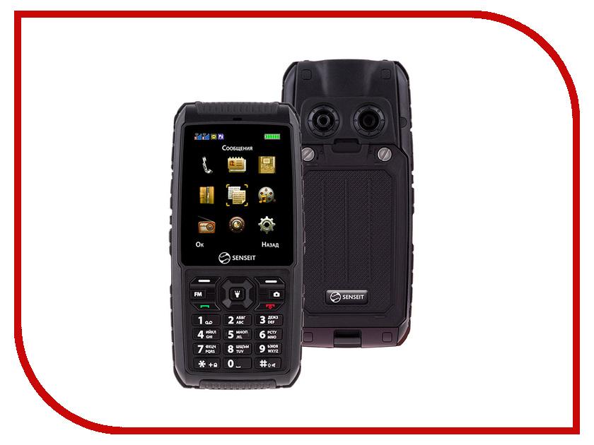 Сотовый телефон SENSEIT P101 Black умная розетка senseit gs2s ведомая
