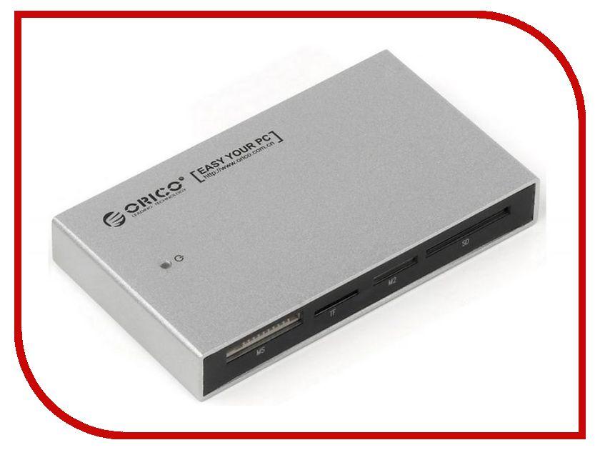 Карт-ридер Orico 7566C3 Silver