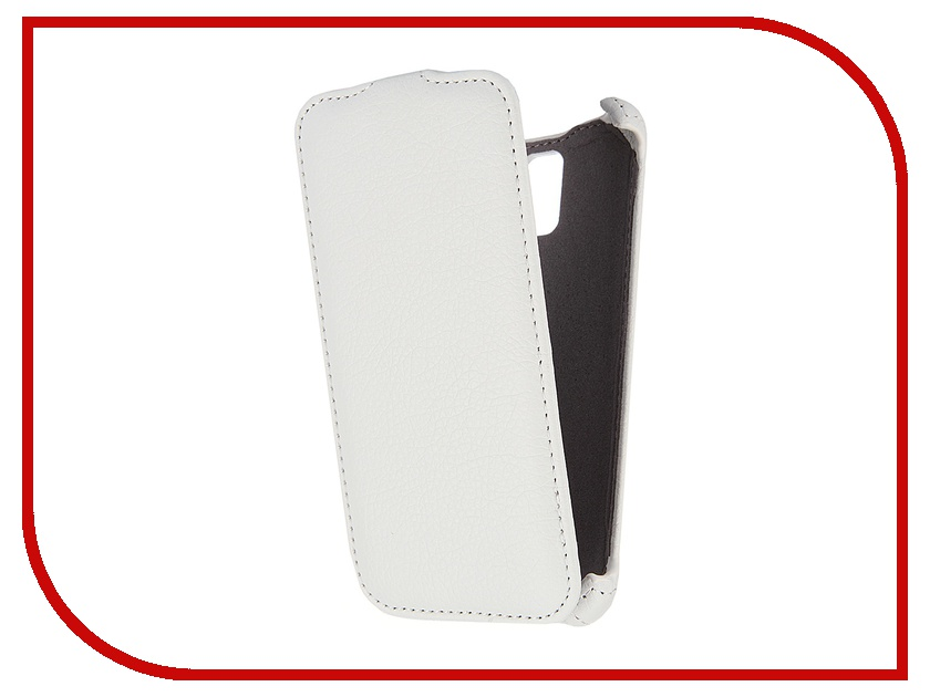 Аксессуар Чехол Lenovo S660 Gecko White<br>