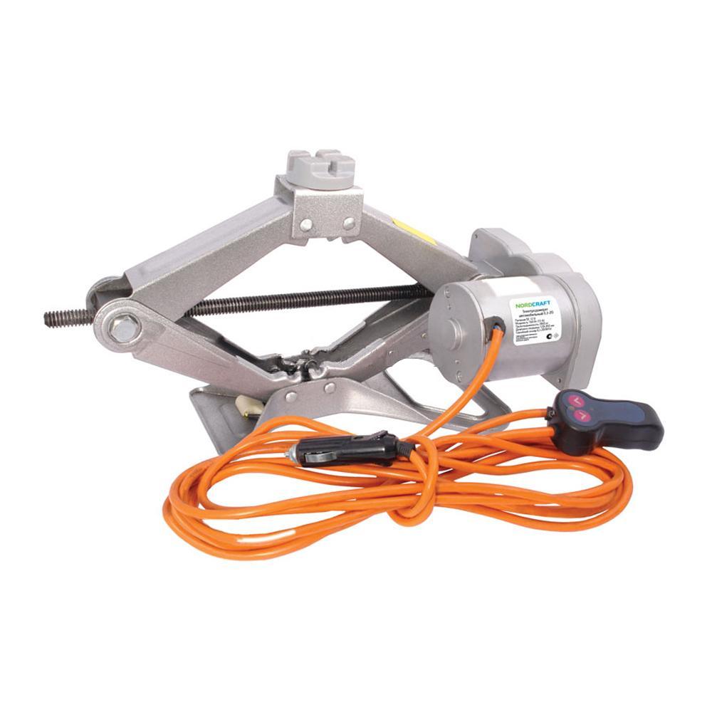 — эти устройства представляют собой разновидность ромбовидного домкрата, дополнительно оборудованного электродвигателем.