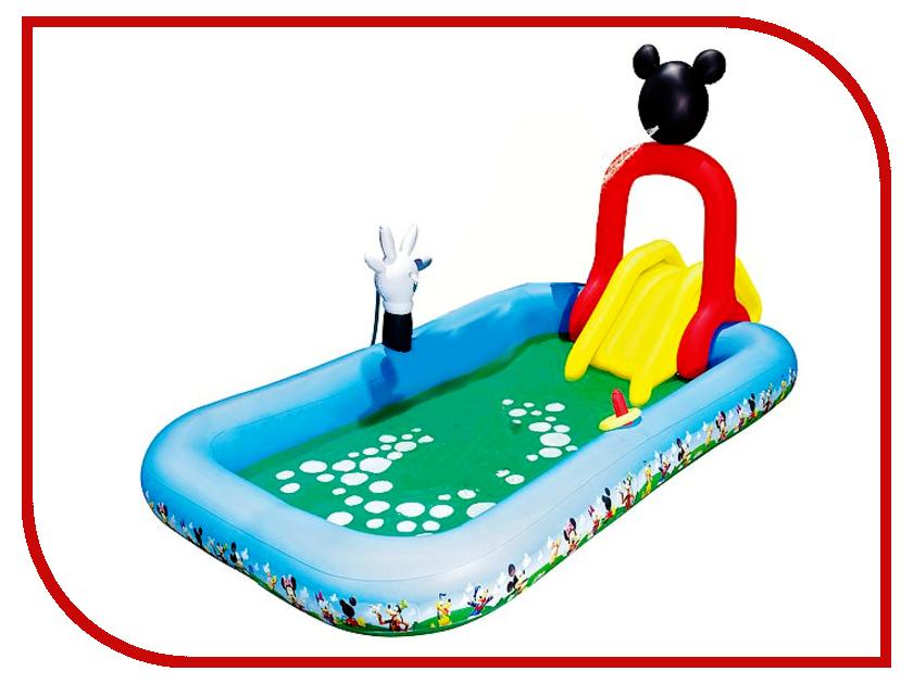 Детский бассейн BestWay Микки-Маус 91016B надувной бассейн bestway микки маус 91016