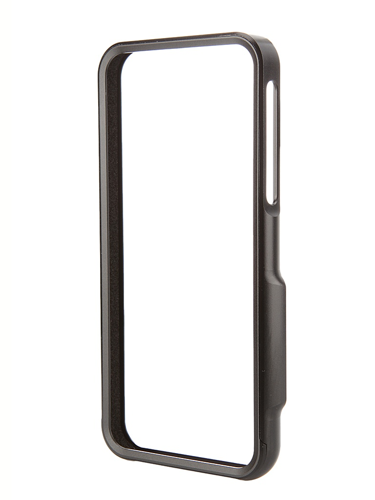 Аксессуар Чехол-бампер DF iArmor-01 для iPhone 5 / 5S Black