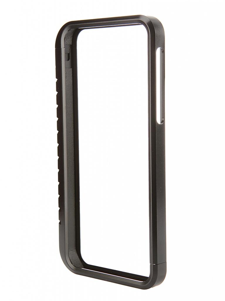 Аксессуар Чехол-бампер DF iArmor-03 для iPhone 5 / 5S Black