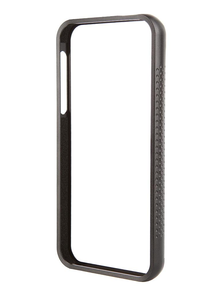 Аксессуар Чехол-бампер DF iArmor-04 для iPhone 5 / 5S Black