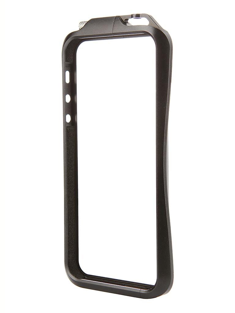Аксессуар Чехол-бампер DF iArmor-06 для iPhone 5 / 5S Black