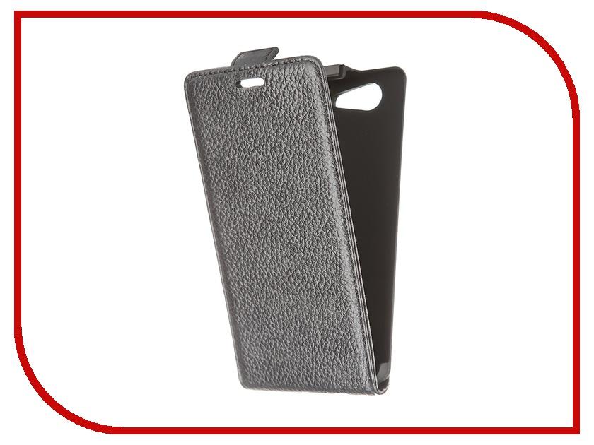 ��������� ����� Sony Xperia Z3 Compact Deppa Elip Cover Black 81044
