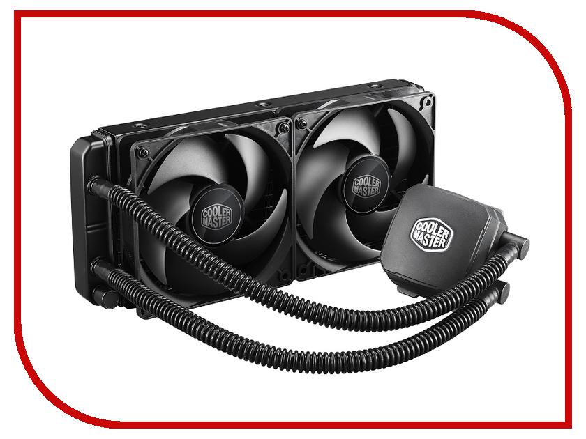Водяное охлаждение Cooler Master Nepton RL-N24M-24PK-R1 (Intel LGA2011/LGA1366/LGA1150/LGA1155/LGA1156/LGA775/AMD FM1/FM2/FM2+/AM2+/AM3/AM3+)