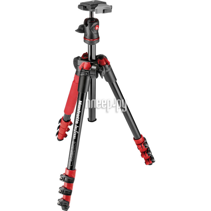 цена на Штатив Manfrotto MKBFRA4RD-BH Befree