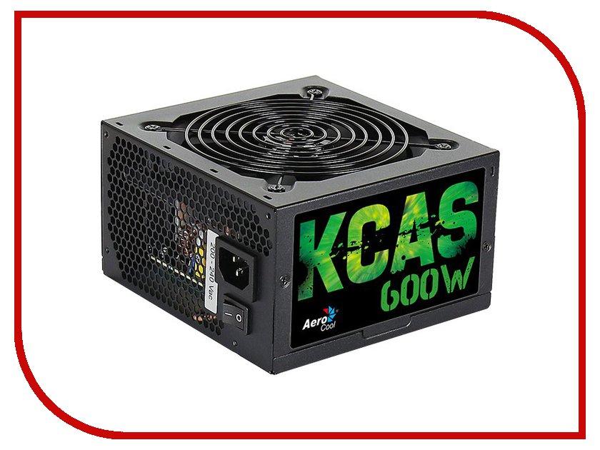 Блок питания AeroCool Retail KCAS-600W 600W блок питания aerocool strike x 600w en53655