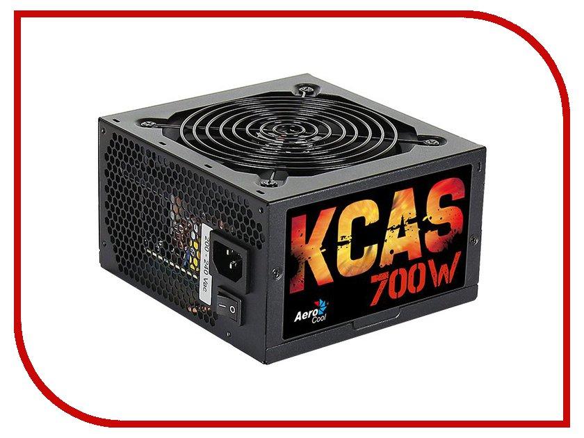 Блоки питания KCAS-700W  Блок питания AeroCool Retail KCAS-700W 700W 4713105953282