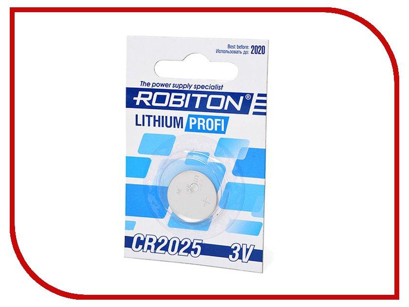 Батарейка CR2025 - Robiton Profi R-CR2025-BL1<br>