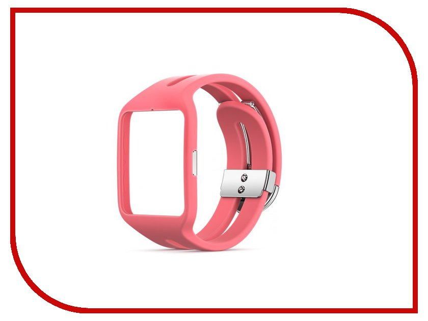 Аксессуар Ремешок Sony SWR510 для SmartWatch 3 Silicone Strap Pink 1287-7109<br>