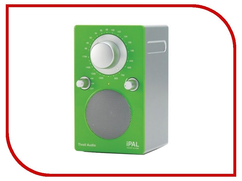 Радиоприемник Tivoli Audio iPAL High Glossy Green-Silver