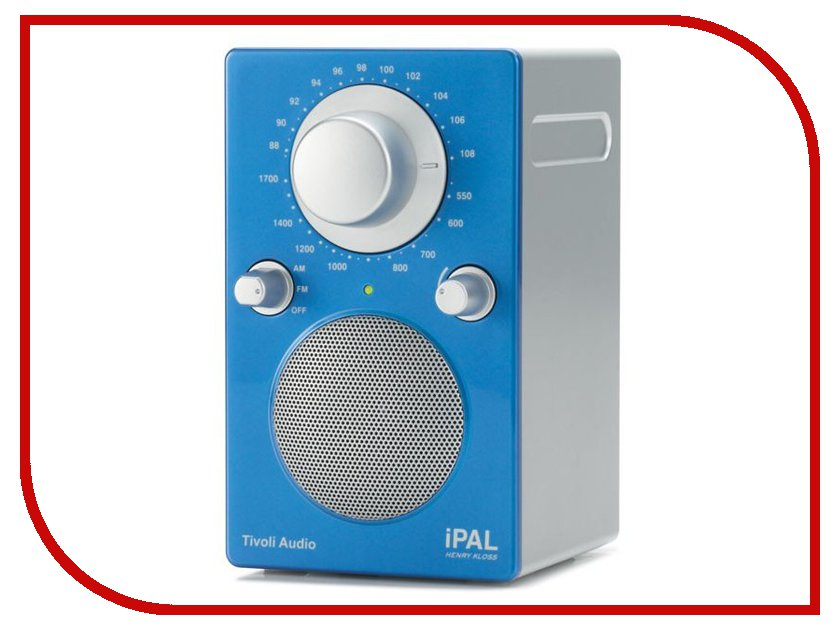 Радиоприемник Tivoli Audio PAL Red-Silver<br>