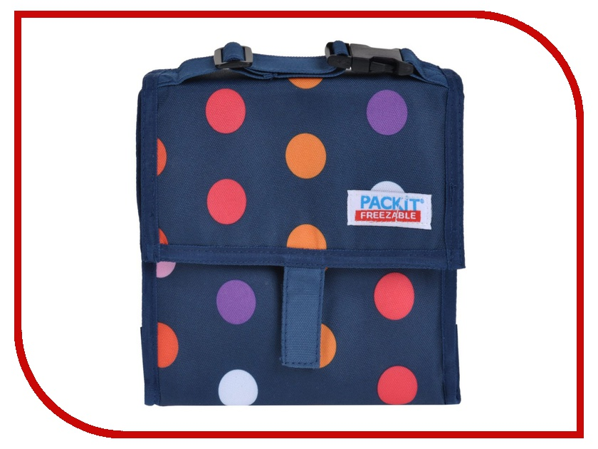 Термосумка Packit Mini Cooler Blue Dots PKT-MC-DOT