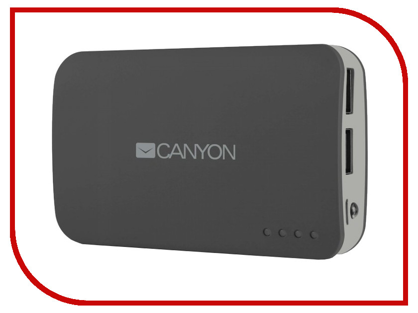 Аккумулятор Canyon CNE-CPB78 7800 mAh Dark Grey CNECPB78DG<br>
