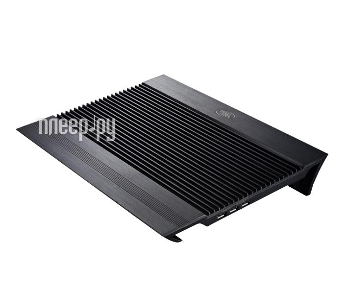 Фото - Подставка для ноутбука DeepCool N8 Black подставка для ноутбука deepcool u pal u pal 15 6 черная