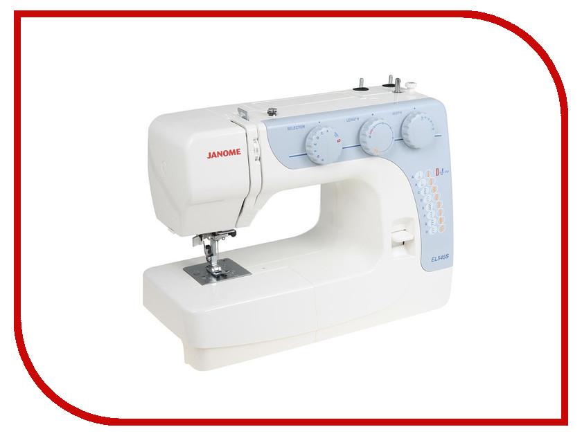 Швейная машинка Janome EL545S альфа книга планы издательства