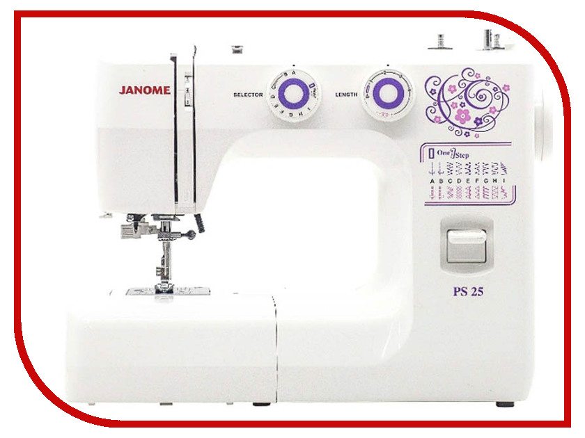 Швейная машинка Janome PS25 цена janome memory craft 5200
