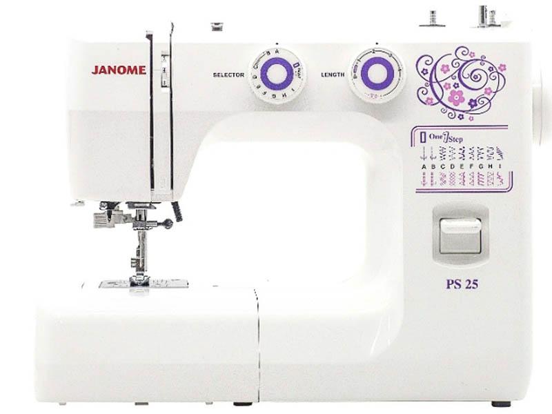 Швейная машинка Janome PS25 машинка швейная janome 2141