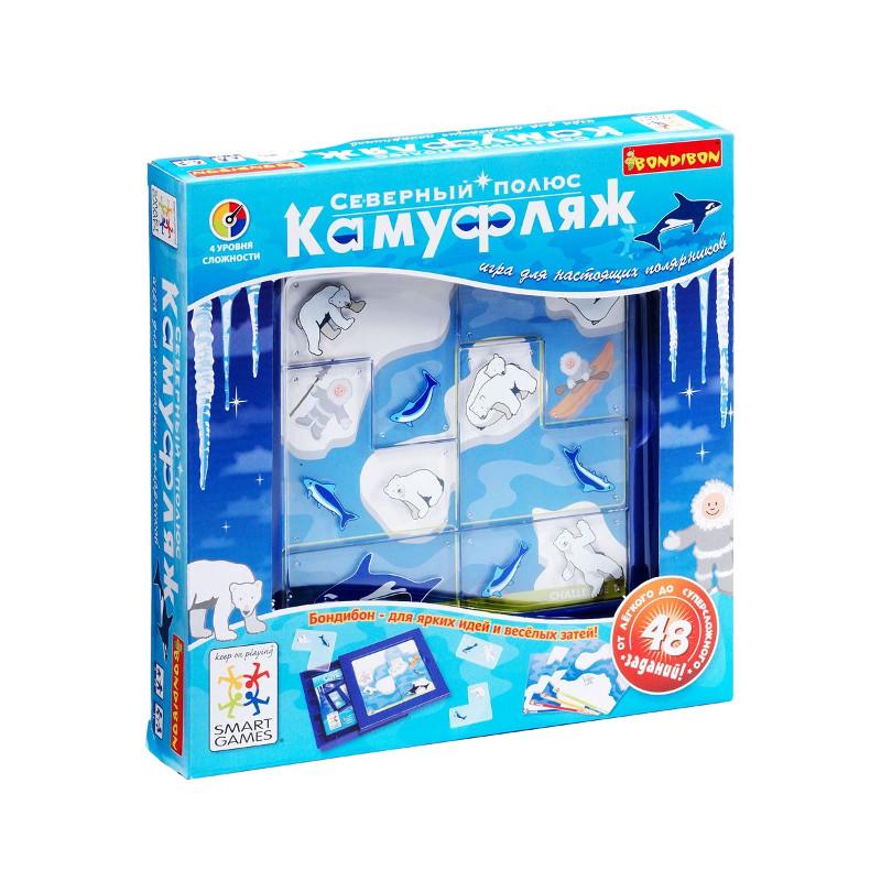 Настольная игра Bondibon Северный Полюс Камуфляж BB0516 SG 201 RU<br>