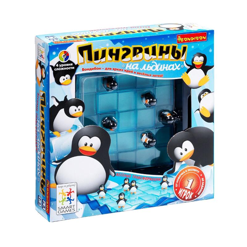 Головоломка Bondibon Пингвины на льдинах BB0851 SG 155 RU цена