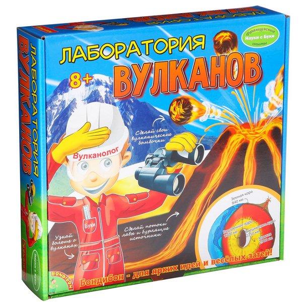 Игра Bondibon Науки с Буки Лаборатория вулканов BB1124 WS/65