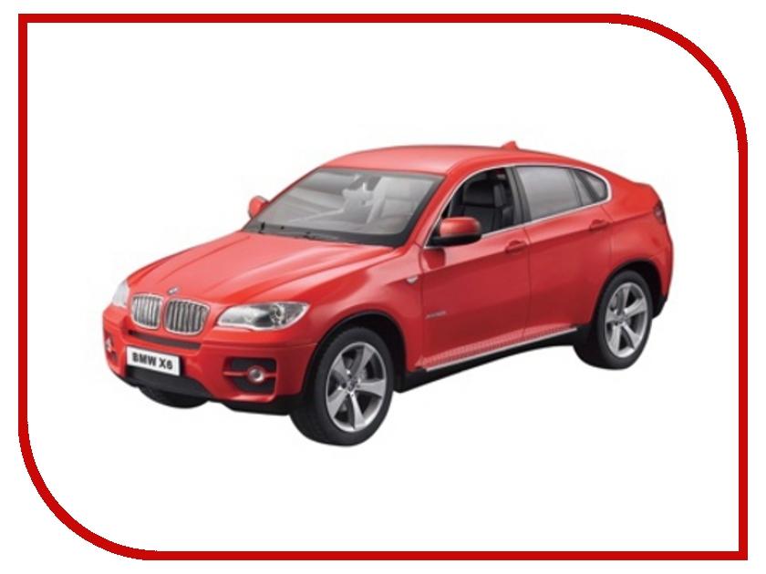 Игрушка Rastar BMW X6 1:14 31400 rastar радиоуправляемая модель bmw x6 цвет красный масштаб 1 14