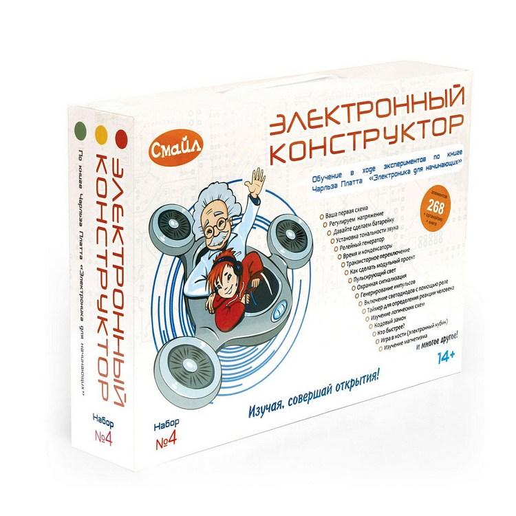 Конструктор СМАЙЛ Набор №4 ENS-224<br>