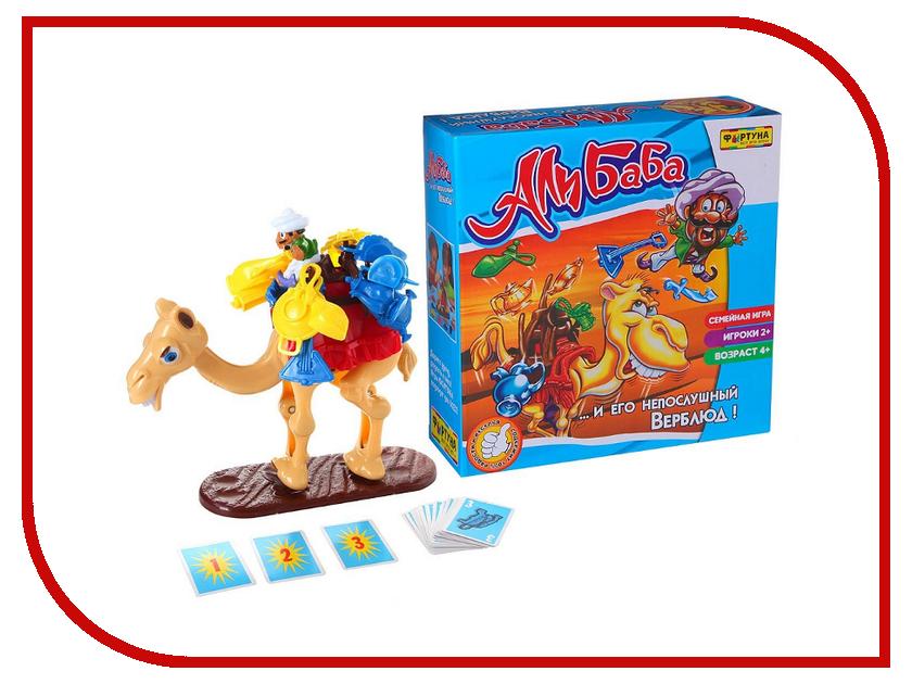 Настольная игра Фортуна Али Баба и Непослушный верблюд Ф51233 настольная игра фортуна закон джунглей ф72417