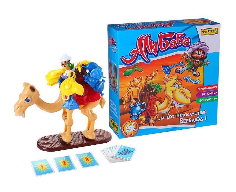 Настольная игра Фортуна Али Баба и Непослушный верблюд Ф51233<br>