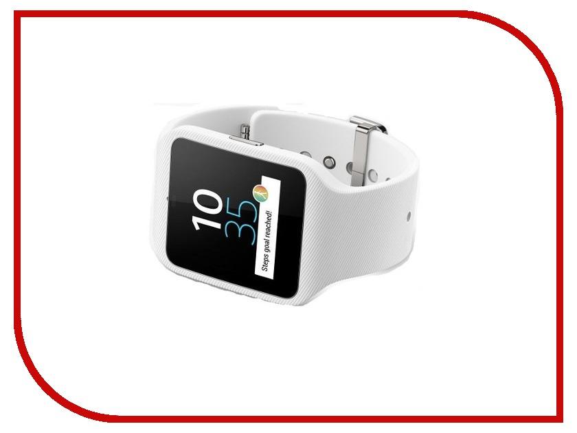 Умные часы Sony SmartWatch 3 SWR50 Silicone Strap White<br>
