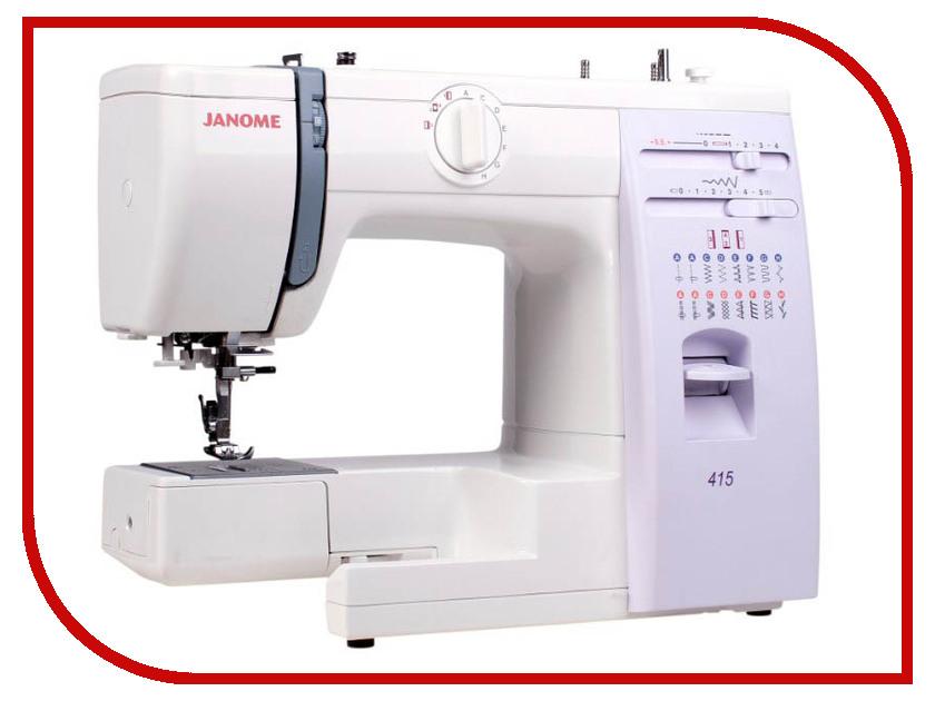 Швейная машинка Janome 415/5515 швейная машинка janome dc 2030