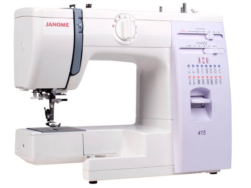 Швейная машинка Janome 415/5515 швейная машинка janome tm 2004