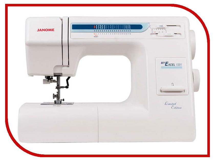 Швейная машинка Janome My Excel 18W / My Excel 1221 my favor my lady 15