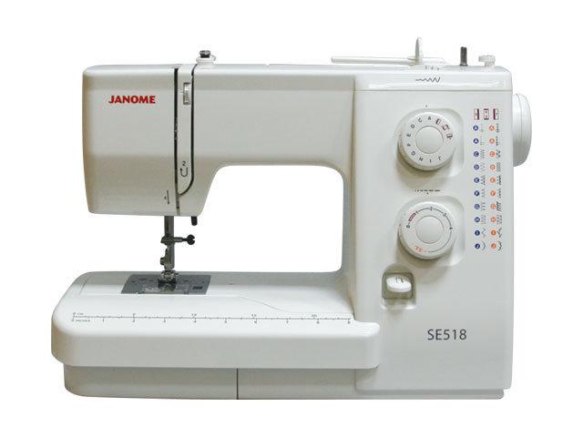 Швейная машинка Janome SE518 / 521 S