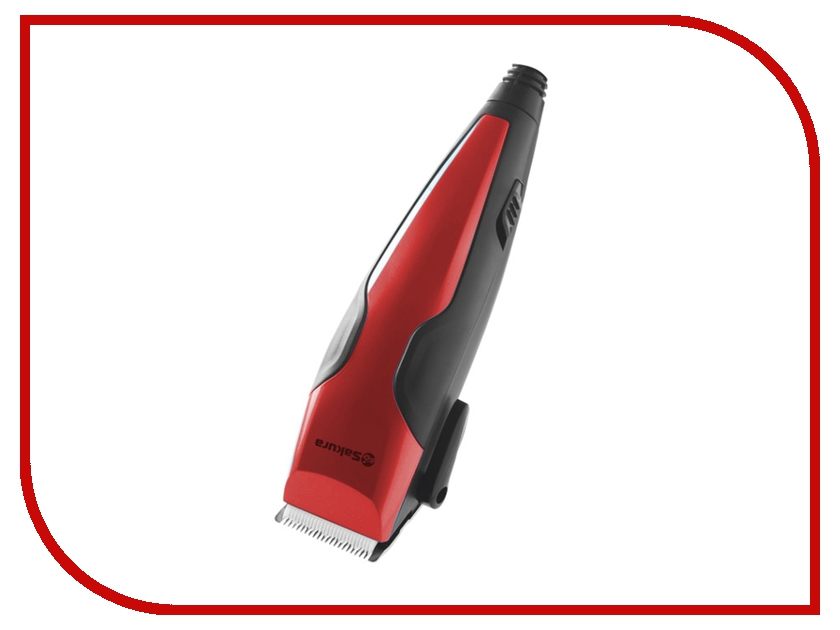 Машинка для стрижки волос Sakura SA-5103R Red