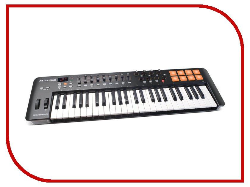 MIDI-клавиатура M-Audio Oxygen 49 mk2 / mk4 bx6 carbon m audio