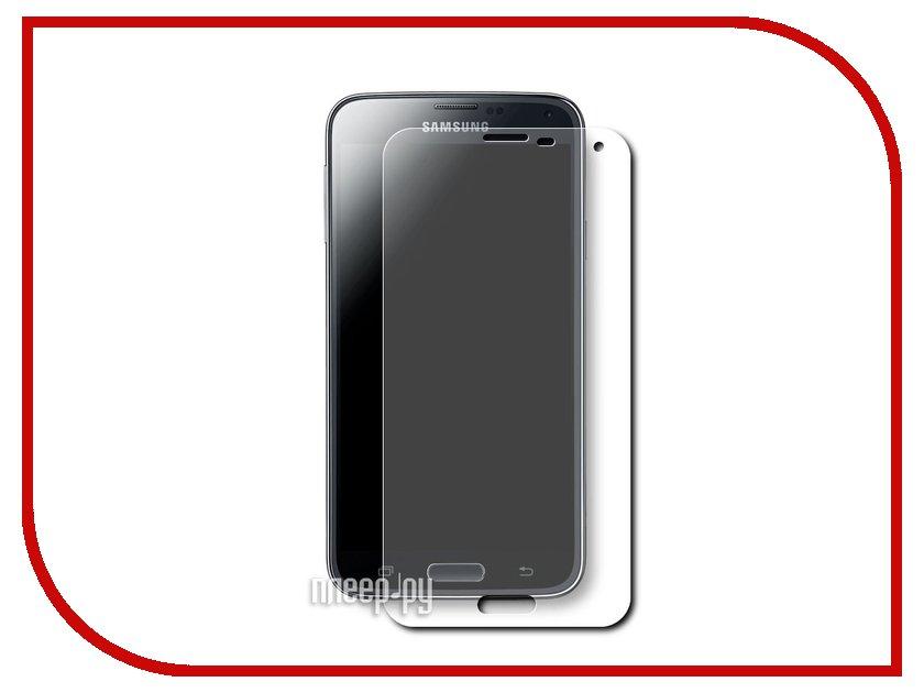 Аксессуар Защитное стекло Samsung Galaxy S5 SkinBox 0.3mm 2.5D глянцевое SP-085