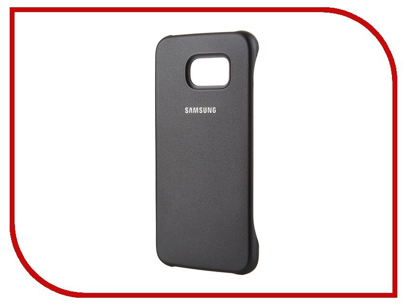 Аксессуар Чехол-накладка Samsung SM-G920 Galaxy S6 Protective Cover Black EF-YG920BBEGRU<br>