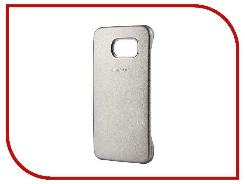 Аксессуар Чехол-накладка Samsung SM-G920 Galaxy S6 Protective Cover Gold EF-YG920BFEGRU<br>